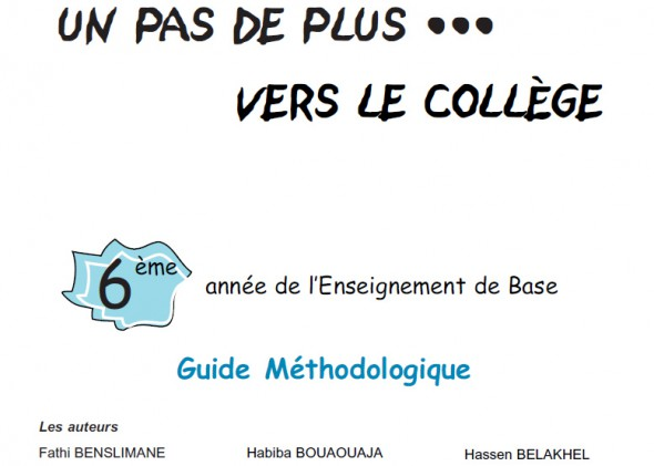 6eme Annee De L Enseignement De Base Guide Methodologique