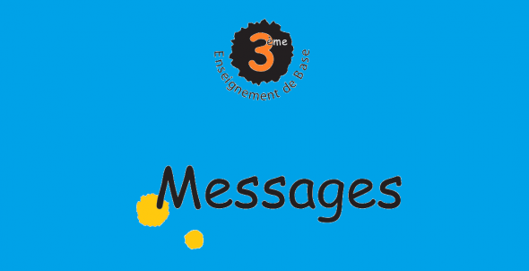 3eme Annee Francais Messages